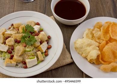 Rujak Tahu Palembang, Indonesian food