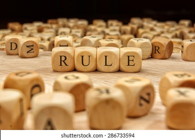 RULE word concept