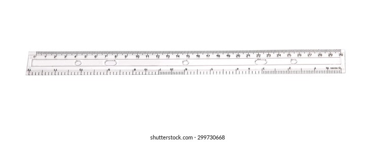 ruler with white background
