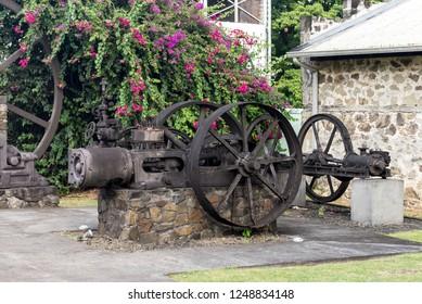 Rum distillation machines