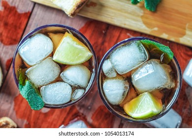 Rum Ice Cocktail
