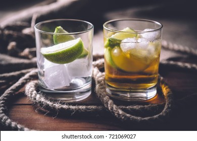 rum tequila, strong drinks vintage photo