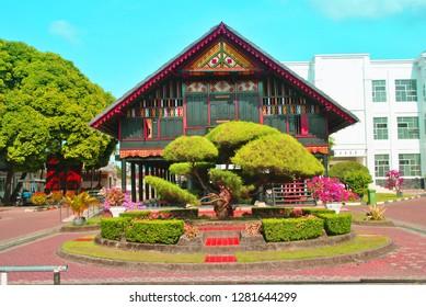 Rumah Aceh - indonesia