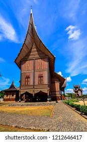 Rumah Gadang Istana Pagaruyung Batu Sangkar West Sumatera