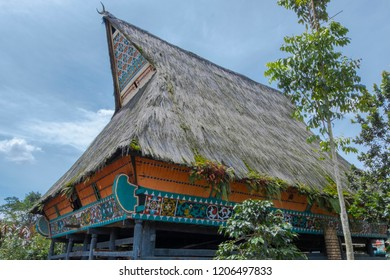 Rumah Gerga [House Gerga] is a traditional house of Karo tribe in North Sumatra, Indonesia. House Gerga founded in 1860 inhabited by 12 families [jabu] in one house.