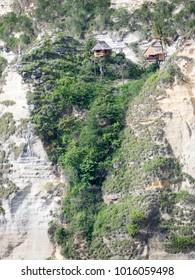 Rumah Pohon Molenteng or Molenteng Tree House at Nusa Penida Island, Indonesia