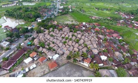 Rumah sasak sade lombok island Indonesia
