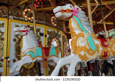 Rumble ponies on the carousel