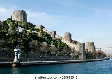 Rumeli Castle  in Istanbul, Turkey