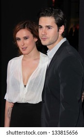 "Rumer Willis, Jayson Blair at the ""G.I. Joe: Retaliation"" Los Angeles Premiere, Chinese Theater, Hollywood, CA 03-28-13"