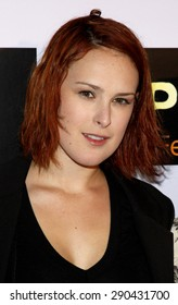 Rumer Willis at the Los Angeles premiere of 'Push' held at the Mann Village Theater in Westwood on January 29, 2009.