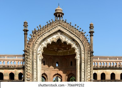 The Rumi Darwaza  in Lucknow India, is an imposing gateway which was built under the patronage of Nawab Asaf-Ud-daula in 1784. It is an example of Awadhi architecture