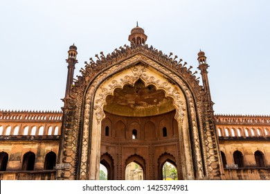 The Rumi Darwaza (Turkish Gate) in Lucknow, Uttar Pradesh state of India is an imposing gateway