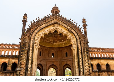 The Rumi Darwaza (Turkish Gate) in Lucknow, India