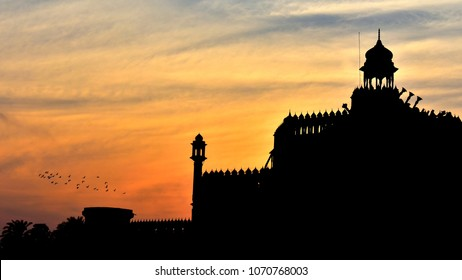 Rumi Gate Evening background ,Lucknow ,India