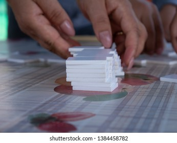 a rummy game with friends