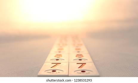 rummy numbers aligned