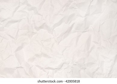 Rumpled paper. Background