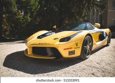 ??Cannonball Run 2016 ?� 14 of October: LaFerrari (project name, F150) is a limited production hybrid sports car built by Ferrari on pre-rally meetings at Wheatleight