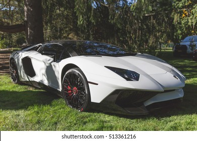 ??Cannonball Run 2016 ?� 14 of October: Lamborghini Aventador LP 750 on pre-rally meetings at Wheatleight