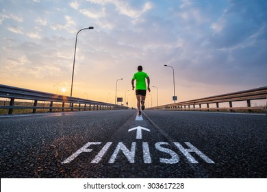 Run to the finish line