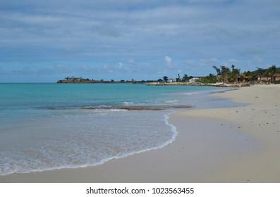 Runaway Beach on Dickenson Bay in Antigua