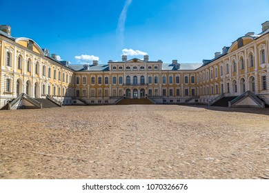 Rundale Palace in a beautiful summer day, Latvia
