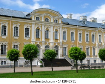 Rundale palace in Latvia, Baltic country