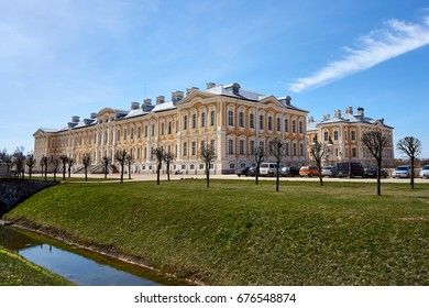 Rundals palace in Latvia.