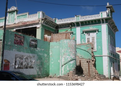 Rundown building in Aruba