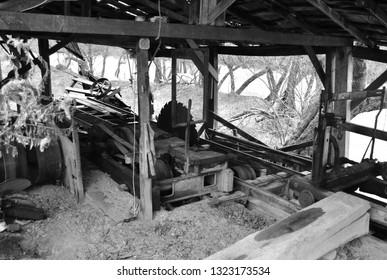 Rundown Sawmill in Beaver Creek