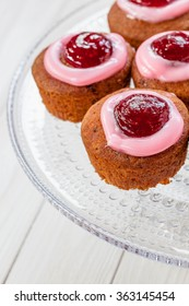 Runeberg Cakes (Runebergin Torttu) - Finnish homemade Runeberg day pastry