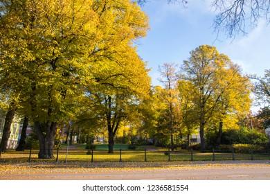 The Runeberg Park view, Porvoo, Finland