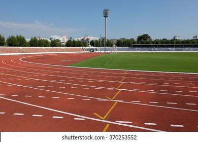 Runing track