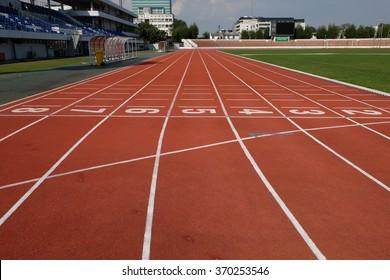 Runing track no.1-8