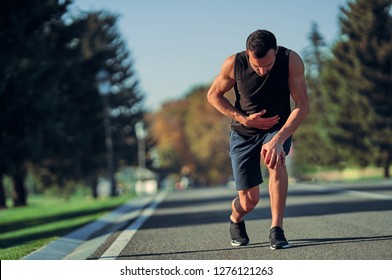 The runner feeling bad while running