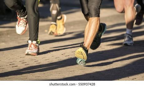 runner in a marathon competition
