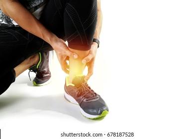 Pain Leg Images, Stock Photos & Vectors | Shutterstock