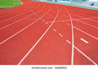 Runner track one.