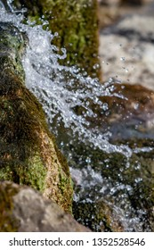 runnig water in nature