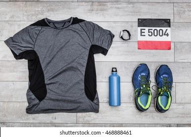Running gear, top view