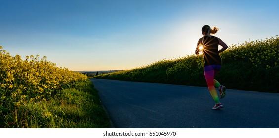 Running is a popular sport