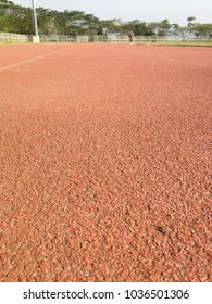 running trackis a rubberized artificialrunning surfacefortrack and field athletics. It provides a consistent surface for competitors to test their athletic ability unencumbered by adverse weather