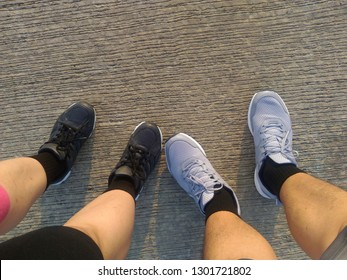 Running Shoes Couple