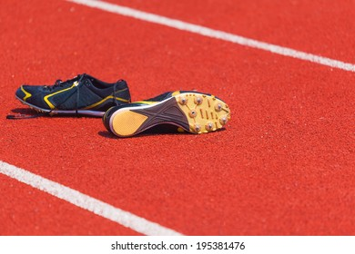 running shoes  for men, sports background
