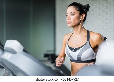 Running in sports club