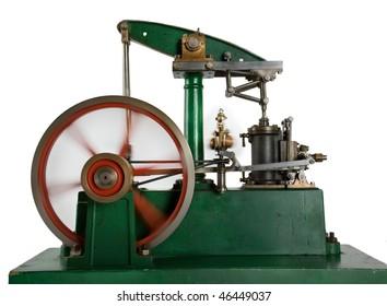 Running Steam Engine