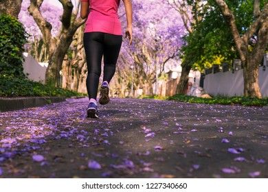 Running through the Jacaranda lined avenues of Johannesburg on a beautiful spring morning in early October