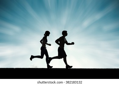 running together concept