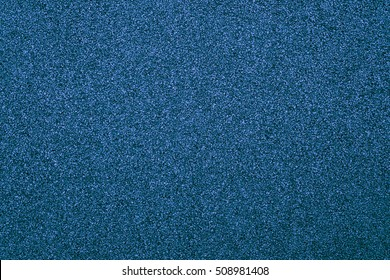 Running track blue rubber cover texture for background. top view rubber running track texture